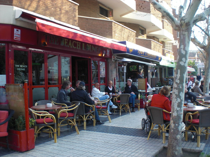 Enjoying a cup of coffee at an Albir cafe is a great way to spend some time