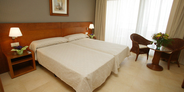 One of the superb rooms at the Hotel Ifach in Calpe