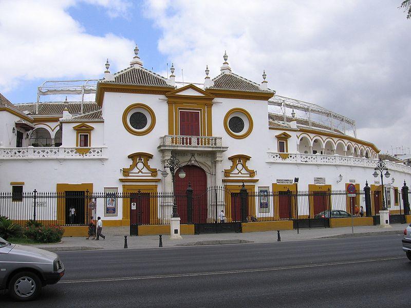 La Plaza de Toros de la Maestranza de Caballeria