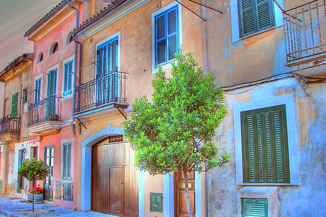 palma old streets