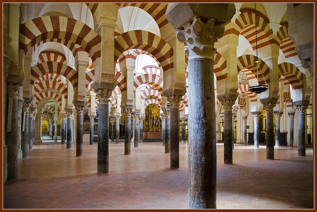 Mezquita de Córdoba copyright Bert Kaufmann, Creative Commons