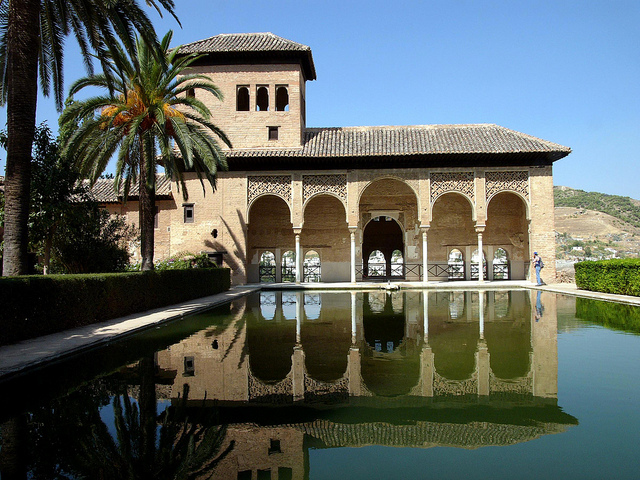Alhambra in Granada - copyright jamesgordon, creative commons
