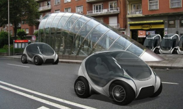 Spanish Hiriko Fold Up Car To Be Unveiled To European Commission