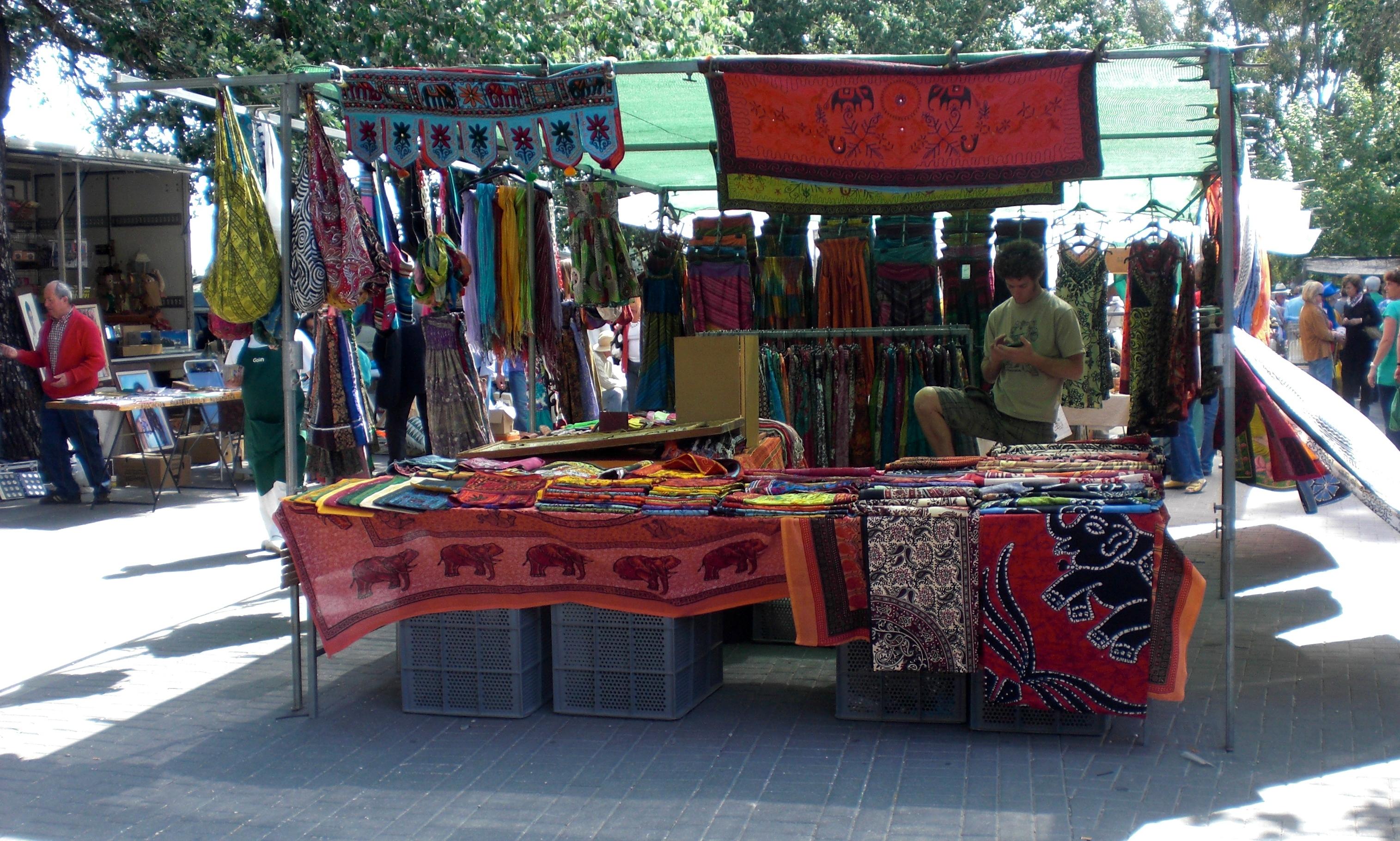 Jalon Market stall