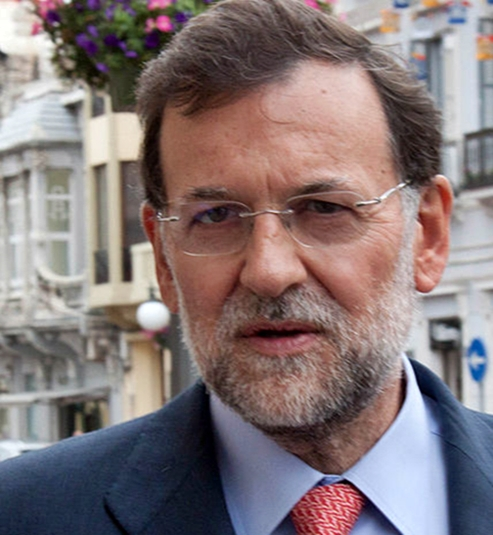 Rajoy continued to prove he doesn't know what he's doing in his year end address -- copyright Partido Popular de Melilla, Creative Commons