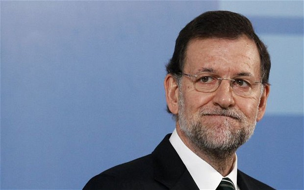 Few Spaniards support Mariano Rajoy
