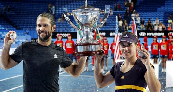 spain wins hopman cup