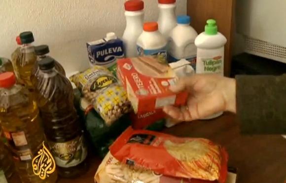 food bank spain