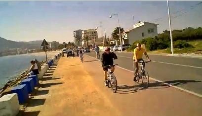 cycling in albir