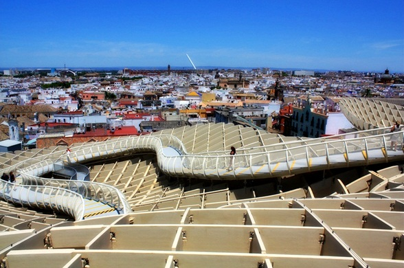 metropol parasol walkways seville