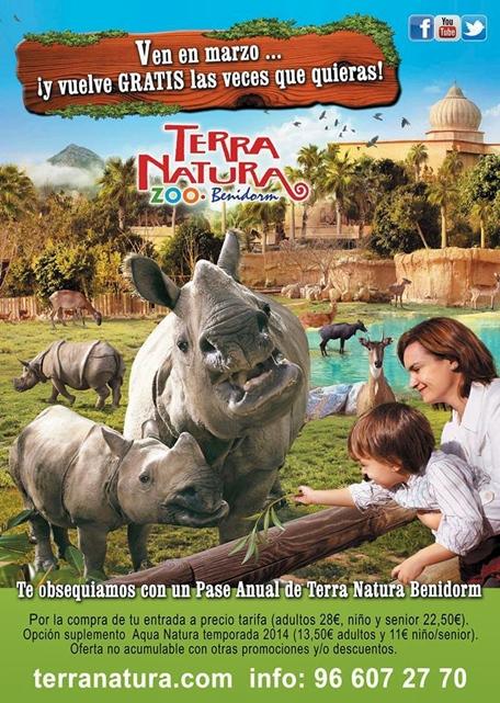 terra natura benidorm free annual pass
