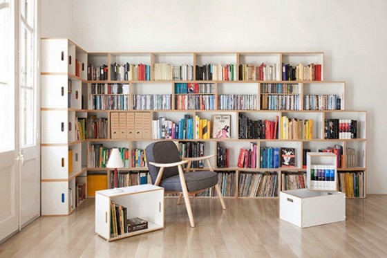 BrickBox-buying bookcases in Spain