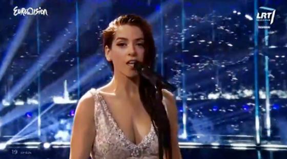 spain ruth lorenzo dancing in the rain eurovision 2014 final