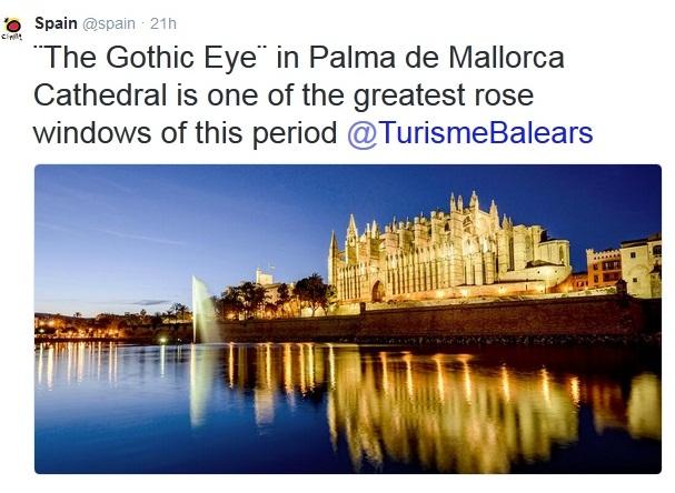 the gothic eye palma majorca photo spain info