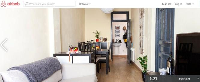 madrid airbnb flat apartment
