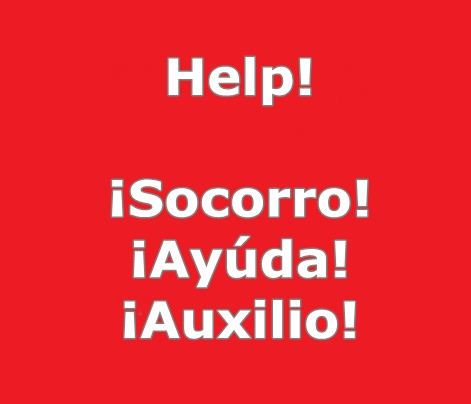 how to say help in spanish